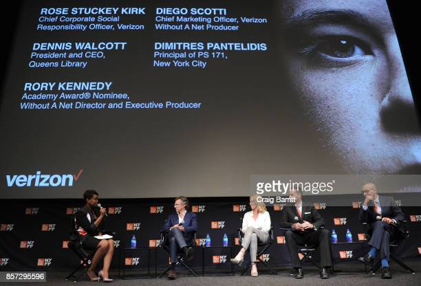 Chief Corporate Social Responsibility Office at Verizon and Executive Producer of Without a Net Rose Stuckey Kirk Executive Vice President and Chief...