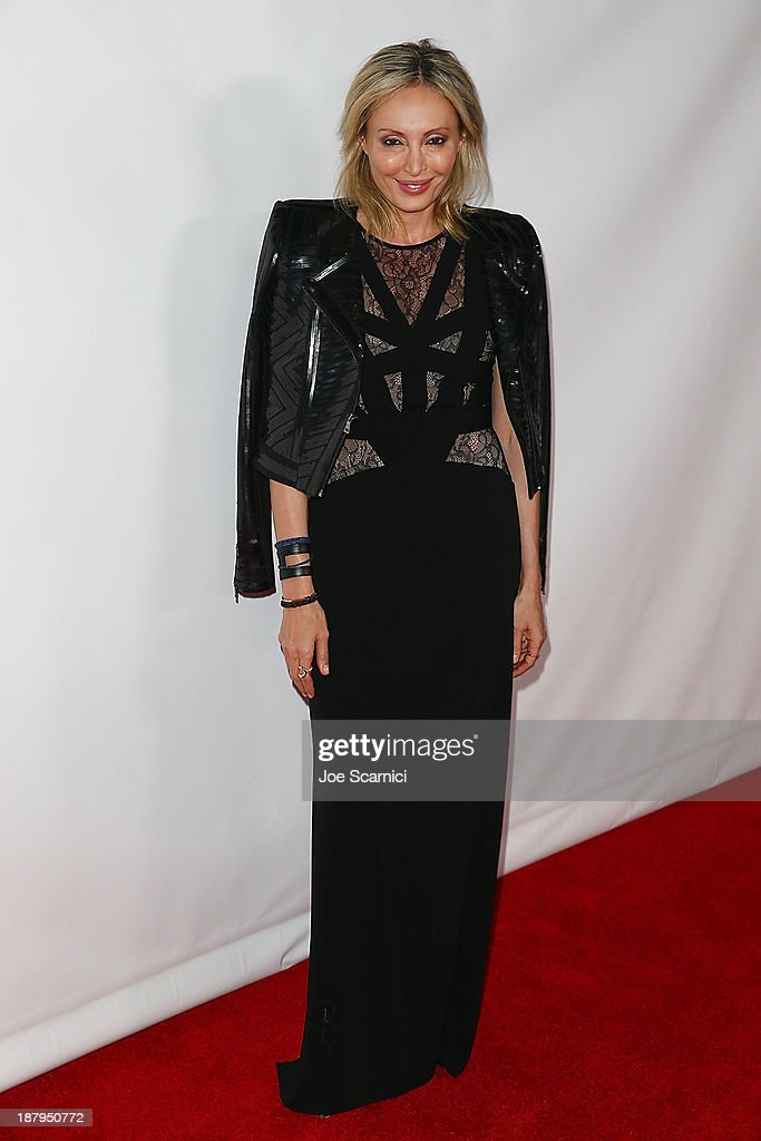 Chief Creative Officer of BCBG Max Azria Group <a gi-track='captionPersonalityLinkClicked' href=/galleries/search?phrase=Lubov+Azria&family=editorial&specificpeople=2281952 ng-click='$event.stopPropagation()'>Lubov Azria</a> attends the 2013 Los Angeles Police Department South Los Angeles PAAL Awards Gala at Peterson Automotive Museum on November 13, 2013 in Los Angeles, California.