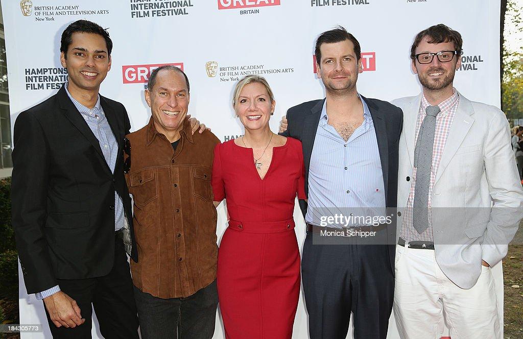 Chief Curator Film at MoMA Rajendra Roy Hamptons International Film Festival Board of Directors Chairman Stuart Match Suna Hamptons International...