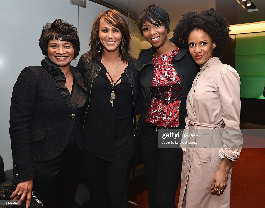 Chief Diversity Officer & Global Director of Education and External Relations for Intel Roz Hudnell, actress <a gi-track='captionPersonalityLinkClicked' href=/galleries/search?phrase=Nicole+Ari+Parker&family=editorial&specificpeople=884033 ng-click='$event.stopPropagation()'>Nicole Ari Parker</a>, actress <a gi-track='captionPersonalityLinkClicked' href=/galleries/search?phrase=Vanessa+A.+Williams&family=editorial&specificpeople=2181191 ng-click='$event.stopPropagation()'>Vanessa A. Williams</a> and actress Kristy Johnson attend a special screening of 10x10's 'Girl Rising' hosted by Intel on March 7, 2013 in Los Angeles, California.