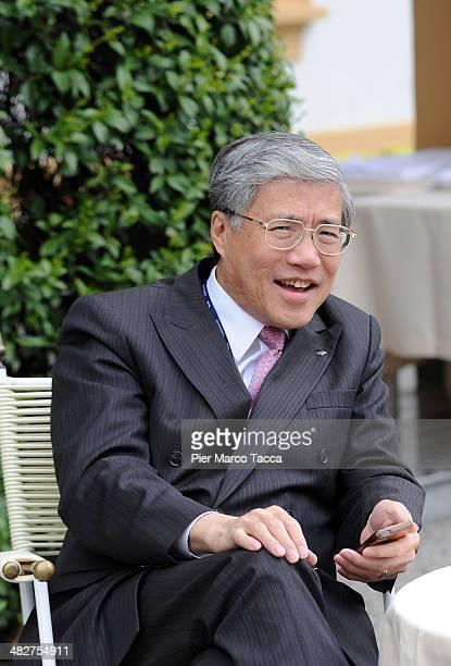 Chief Economist Nomura Research Institute Japan Richard C Koo attends the Ambrosetti Workshop on April 4 2014 in Cernobbio near Como Italy The...