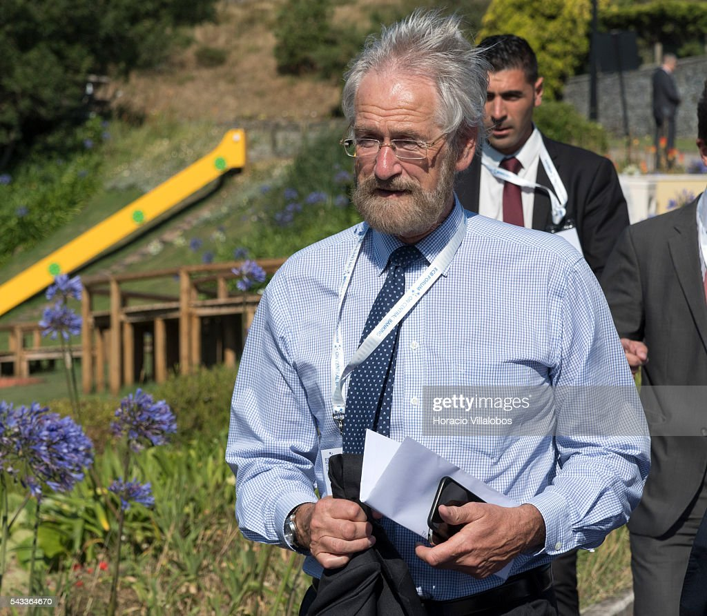 Chief Economist Peter Praet arrives to participate in the ECB Forum on Central Banking on June 27, 2016 in Sintra, Portugal. The third annual European Central Bank Forum on Central Banking focuses on 'The future of the international monetary and financial architecture', a key topic of debate among economists and policymakers. Some 150 central bank governors, academics, financial journalists and high-level financial market representatives will discuss current policy issues and the chosen topic from a longer-term perspective.