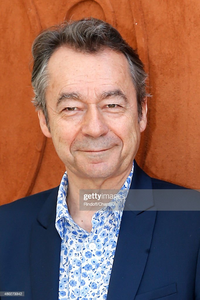 Chief Editor of Vanity Fair France, Michel Denisot attends the Men's Final of Roland Garros French Tennis Open 2014 - Day 15 on June 8, 2014 in Paris, France.