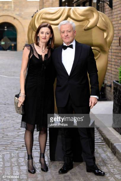 Chief Executive Amanda Sonia Berry and guest attend the British Academy Television Craft Awards on April 23 2017 in London United Kingdom