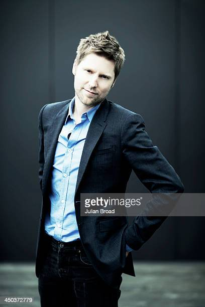 Chief executive of Burberry Christopher Bailey is photographed for Fast Company Magazine on June 24 2013 in London England