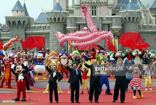 Chief Executive of Hong Kong Donald Tsang vice president of the People's Republic of China Zeng Qinghong Chief Executive Officer of the Walt Disney...