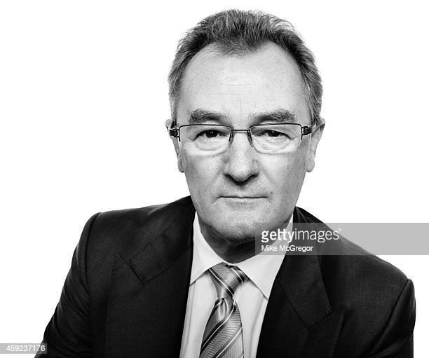 Chief executive of SABMiller Alan Clark is photographed for Institutional Investor Magazine on October 7 2014 in New York City PUBLISHED IMAGE