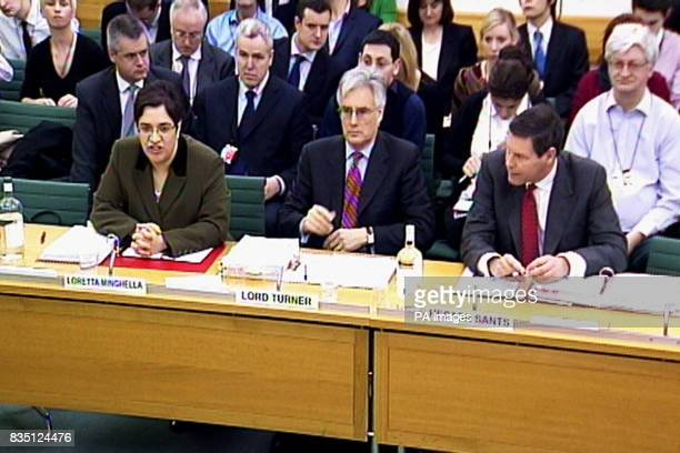 Chief Executive of the Financial Services Compensation Scheme Loretta Minghella Chairman of the FSA Lord Turner and Chief Executive Officer of the...