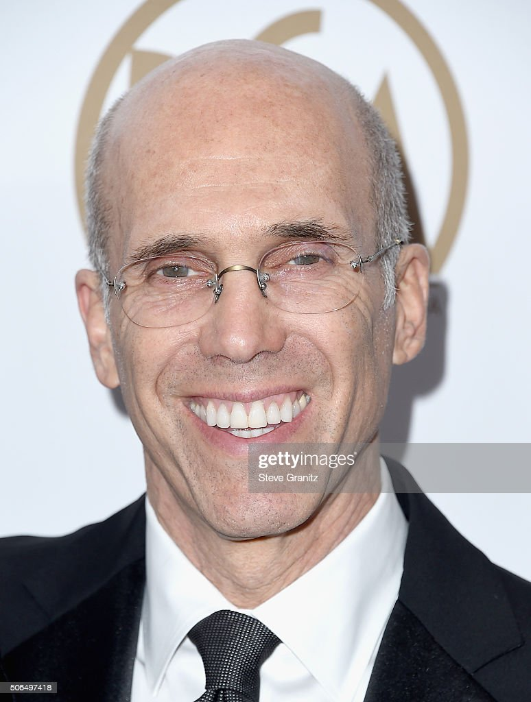 Chief Executive Officer and Director of DreamWorks Animation SKG <a gi-track='captionPersonalityLinkClicked' href=/galleries/search?phrase=Jeffrey+Katzenberg&family=editorial&specificpeople=171496 ng-click='$event.stopPropagation()'>Jeffrey Katzenberg</a> attends the 27th Annual Producers Guild Awards at the Hyatt Regency Century Plaza on January 23, 2016 in Century City, California.