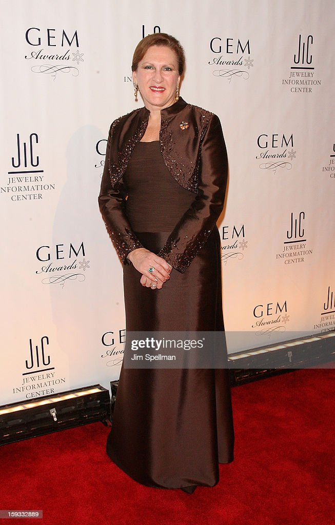 Chief executive officer and president of Borsheim Jewelry Company Susan Jacques attends the 11th Annual GEM Awards Gala at Cipriani 42nd Street on January 11, 2013 in New York City.