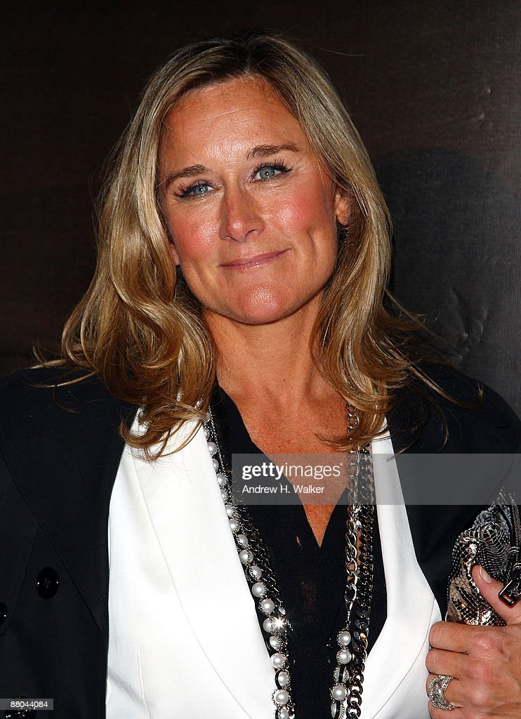Chief Executive Officer at Burberry Angela Ahrendts walks the red carpet during Burberry Day at The New York Palace Hotel on May 28, 2009 in New York City.