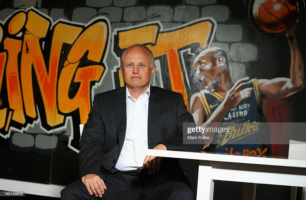 Chief Executive Officer Fraser Neill poses during a pre-season portrait session on October 18, 2013 in Sydney, Australia. Fraser has recently been appointed the Chief Executive Officer of the NBL on the eve of the 2013/14 NBL season.