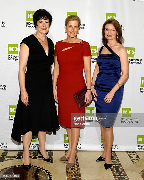 Chief Executive Officer of 100WHF Amanda Pullinger Global Ambassador of 100WHF's Next Generation Initiatives HRH Sophie The Countess of Wessex and...