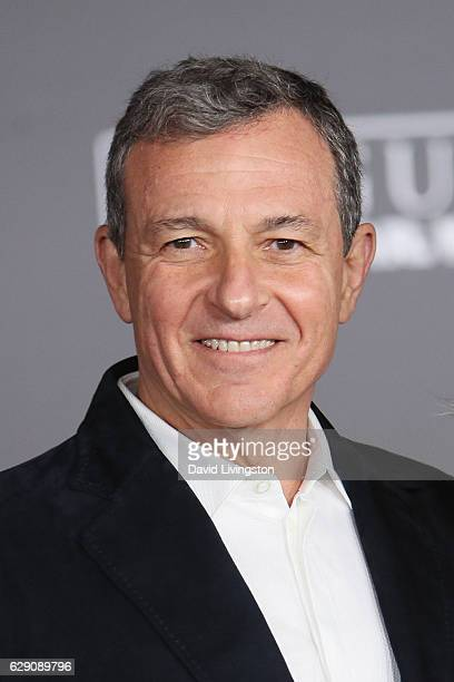 Chief Executive Officer of Disney Bob Iger arrives at the premiere of Walt Disney Pictures and Lucasfilm's 'Rogue One A Star Wars Story' at the...