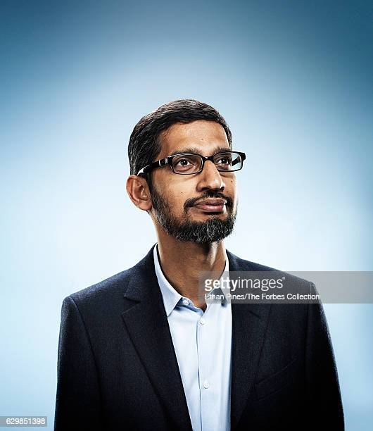 Chief Executive Officer of Google Sundar Pichai is photographed for Forbes Magazine on May 27 2016 in Mountain View California COVER IMAGE CREDIT...