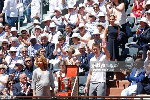Chief Executive Officer of Louis Vuitton Michael Burke Mayor of Paris Anne Hidalgo President of French Tennis Federation Bernard Giudicelli Boxing...