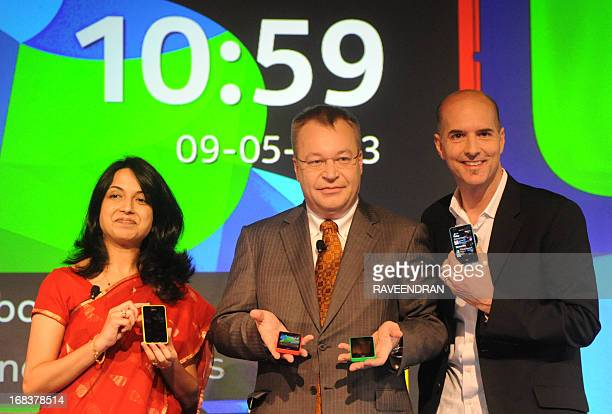 Chief Executive Officer of Nokia Corporation Stephen Elop HeadDeveloper Outreach of Nokia Sangeeta Bavi and United Kingdom Head of Ux Design for...