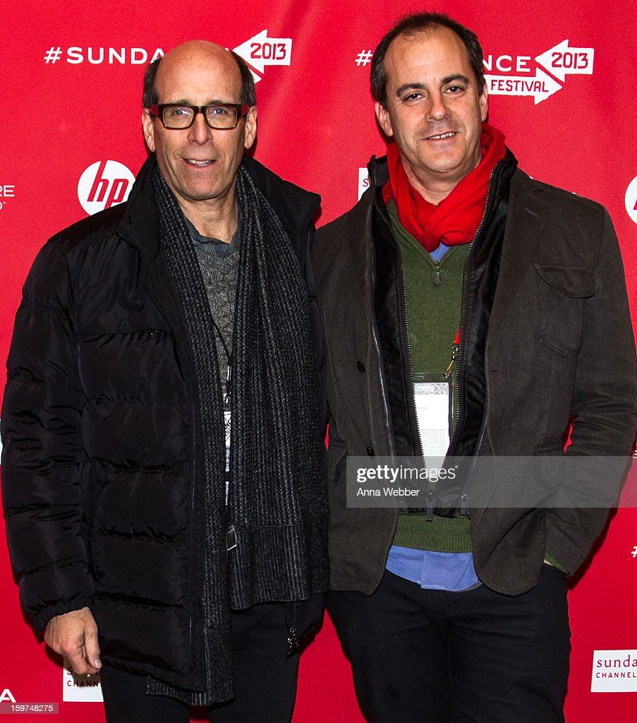 Chief Executive Officer of Showtime Networks Matthew Blank and President of Entertainment at Showtime Networks David Nevins arrive to the 'History of the Eagles' Premiere - 2013 Park City on January 19, 2013 in Park City, Utah.