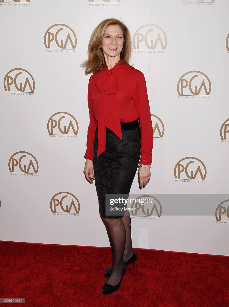 Chief Executive Officer of the Academy of Motion Picture Arts and Sciences Dawn Hudson arrives at the 27th Annual Producers Guild Awards at the Hyatt...