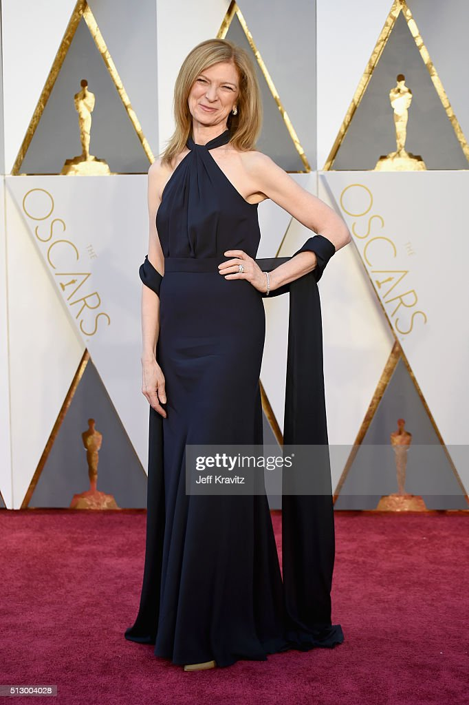 Chief executive officer of the Academy of Motion Picture Arts and Sciences Dawn Hudson attends the 88th Annual Academy Awards at Hollywood & Highland Center on February 28, 2016 in Hollywood, California.
