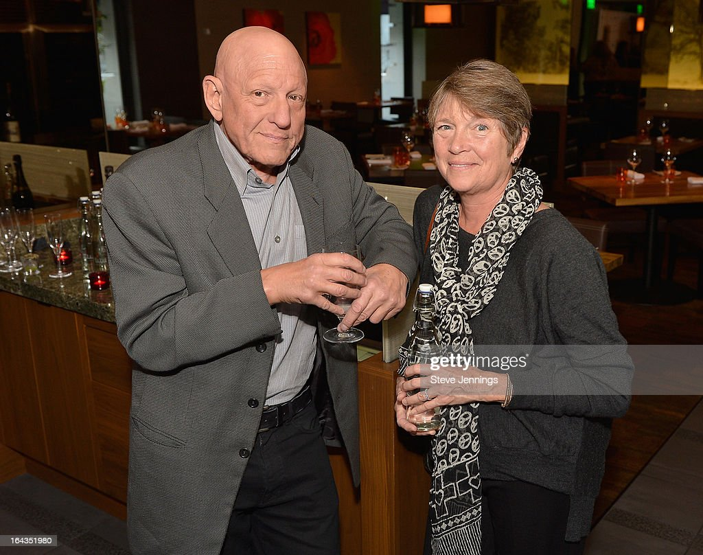 Chief Executive Officer of the Hyatt Development Corporation Nicholas J. Pritzker and Philanthropist Susan Pritzker attend the WHOLE WORLD Water launch event at Parallel 37 at The Ritz-Carlton, San Francisco on March 22, 2013 in San Francisco, California.