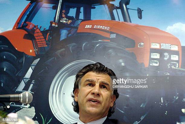 Chief Executive Officer of the Italybased Same DeutzFahr Group a world leader in the manufacture of tractors and agricultural machinery Massimo Bordi...