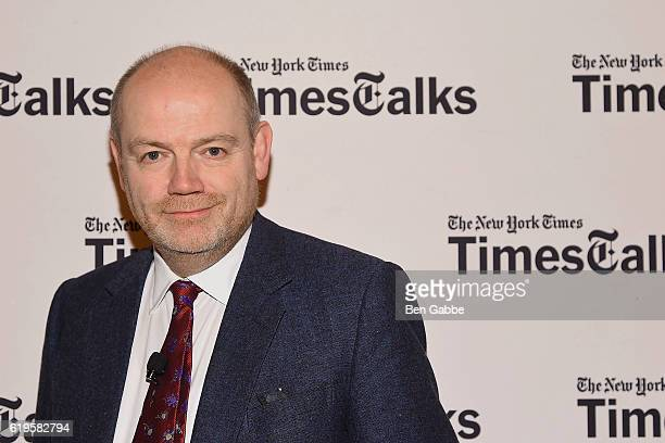 Chief Executive Officer of The New York Times Company Mark Thompson attends TimesTalks at TheTimesCenter on October 31 2016 in New York City