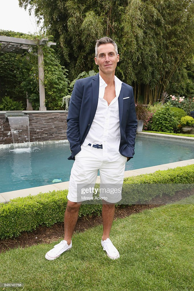 Chief executive officer of Wilhelmina International Inc Bill Wackermann attends Daily Front Row's Boys of Summer party on July 9 2016 in Water Mill...