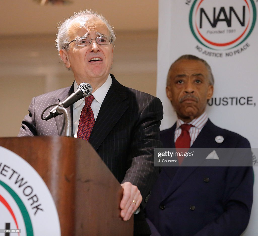 Chief Judge of the State of New York & Chief Judge of the Court of Appeals Jonathen Lippman speaks during the 2013 NAN National Convention Day 2 at New York Sheraton Hotel & Tower on April 4, 2013 in New York City.