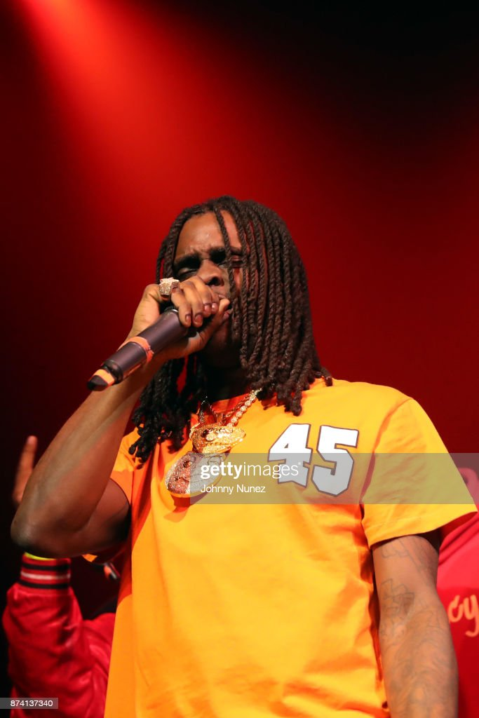 Chief Keef performs at Gramercy Theatre on November 13, 2017 in New York City.