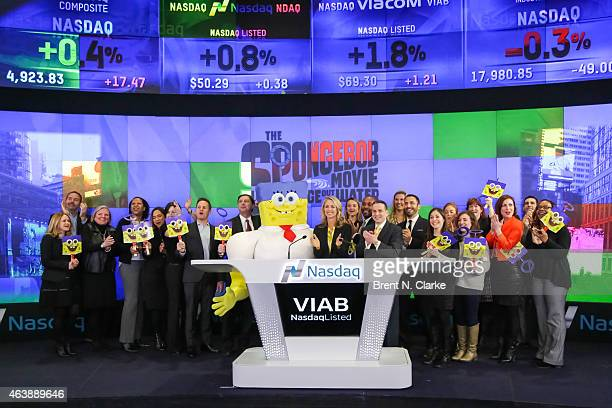 Chief Marketing Officer and President of Consumer Products Nickelodeon Group Pam Kaufman Spongebob Senior Managing Director at Nasdaq Mike Sokoll and...