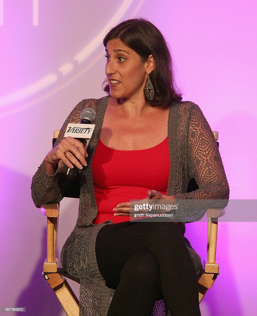 Chief Marketing Officer at Netbase Lisa Joy Rosner speaks onstage at Variety's Spring 2013 Entertainment and Technology Summit Co-Produced with Digital Hollywood at Ritz Carlton Marina Del Rey on April 29, 2013 in Marina del Rey, California.