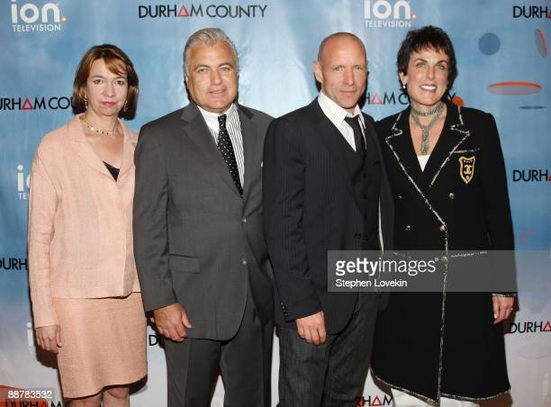 Chief marketing officer for ION Television Eleo Hensleigh President of sales and marketing for ION Television Steve Appel actor Hugh Dillon and EVP...