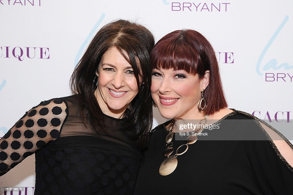 SVP & Chief Marketing Officer Liz Crystal and Singer/TV host Carnie Wilson attend Carnie Wilson & Jay Manuel Celebrate Lane Bryant's NYC Flagship on February 28, 2013 in New York City.