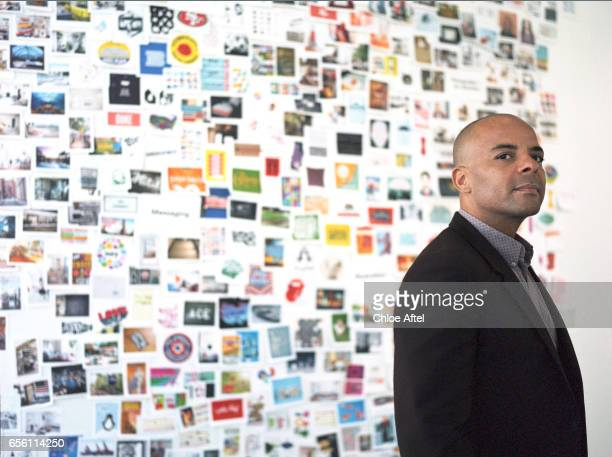 Chief Marketing Officer of Air BnB Jonathan Mildenhall is photographed for Fast Company Magazine on November 1 2016 in San Francisco California