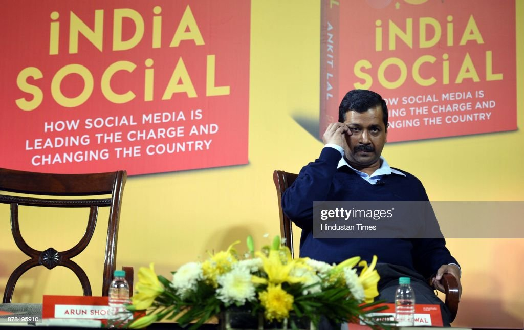 Delhi Chief Minister Arvind Kejriwal Releases Social Media Strategist Ankit Lals Book