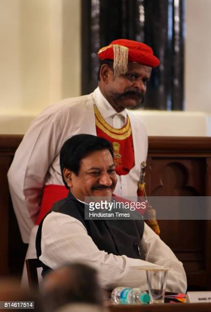 Chief Minister of Maharashtra Prithviraj Chavan at Bombay high court for celebrating 150th anniversary of Bombay High Court on Sunday Morning