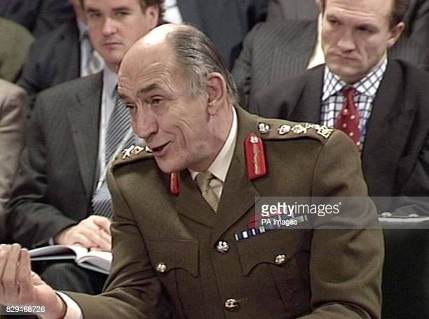 Chief of General Staff General Sir Mike Jackson