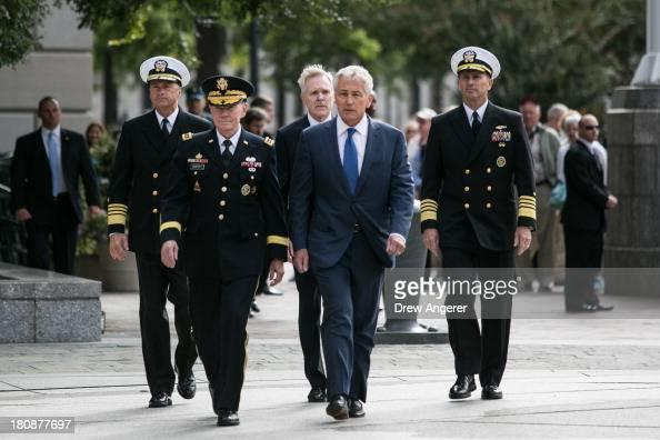 Chief of Naval Operations Jonathan Greenert Chairman of the Joint Chiefs of Staff Gen Martin Dempsey Navy Secretary Ray Maybus US Secretary of...