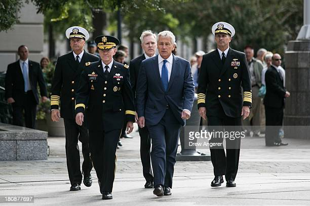 Chief of Naval Operations Jonathan Greenert Chairman of the Joint Chiefs of Staff Gen Martin Dempsey Navy Secretary Ray Maybus US Secretary of...