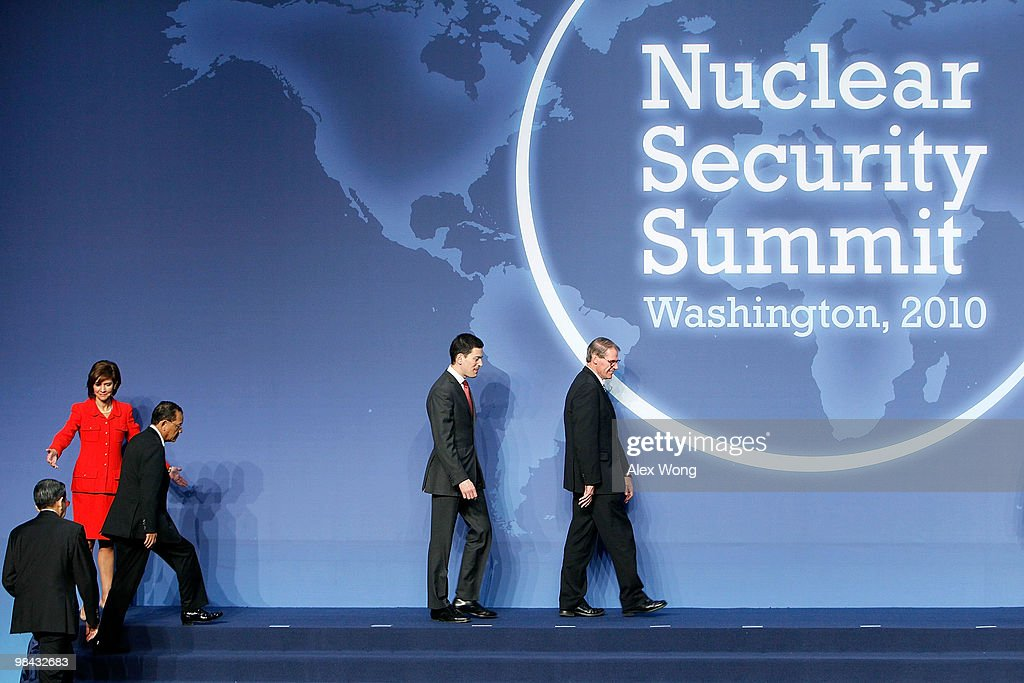 President Obama Hosts World Leaders At Nuclear Security Summit