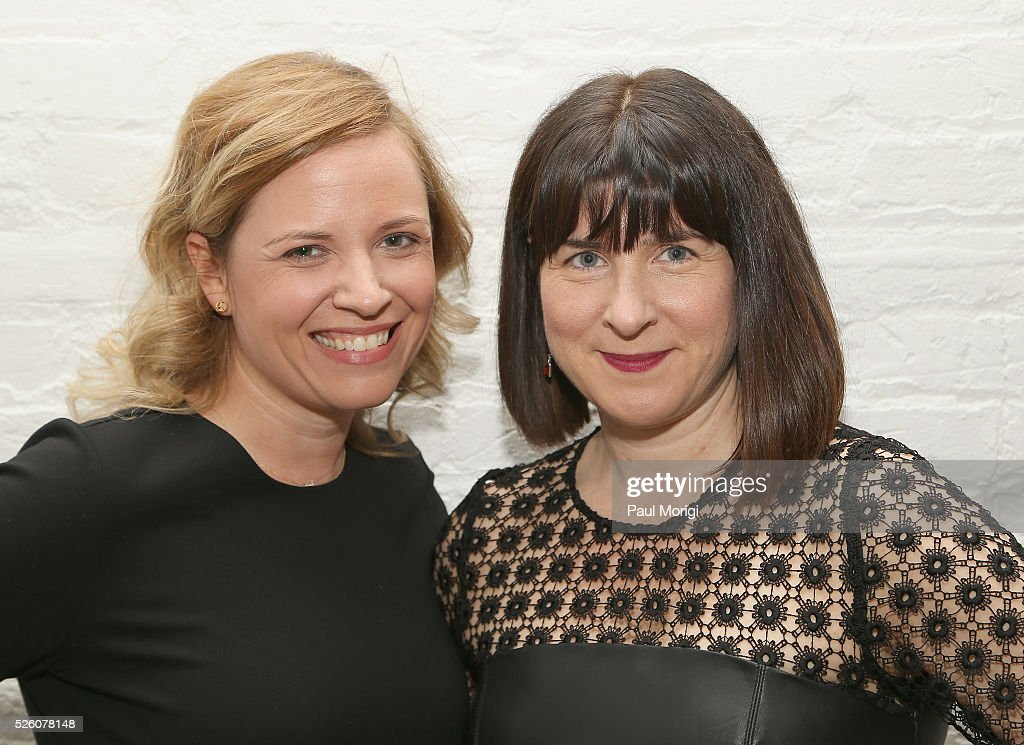 RNC Chief of Staff Katie Walsh and CEO of the Democratic National Committee, Amy Dacey attends the Glamour and Facebook brunch to discuss sexism in 2016, during WHCD Weekend at Kinship on April 29, 2016 in Washington, DC.