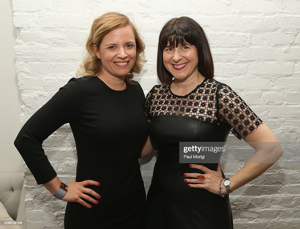 Chief of Staff Katie Walsh and CEO of the Democratic National Committee, Amy Dacey attends the Glamour and Facebook brunch to discuss sexism in 2016, during WHCD Weekend at Kinship on April 29, 2016 in Washington, DC.