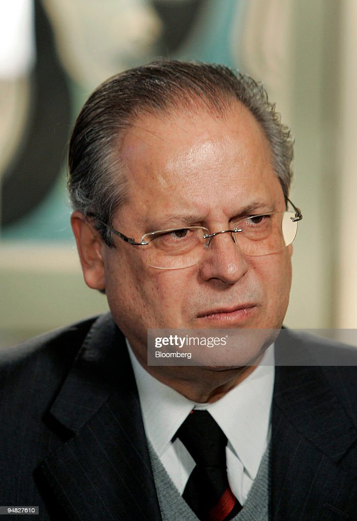 Chief of Staff Minister Jose Dirceu of Brazil during an interview at the Brazilian Consulate in New York Tuesday March 1 2005