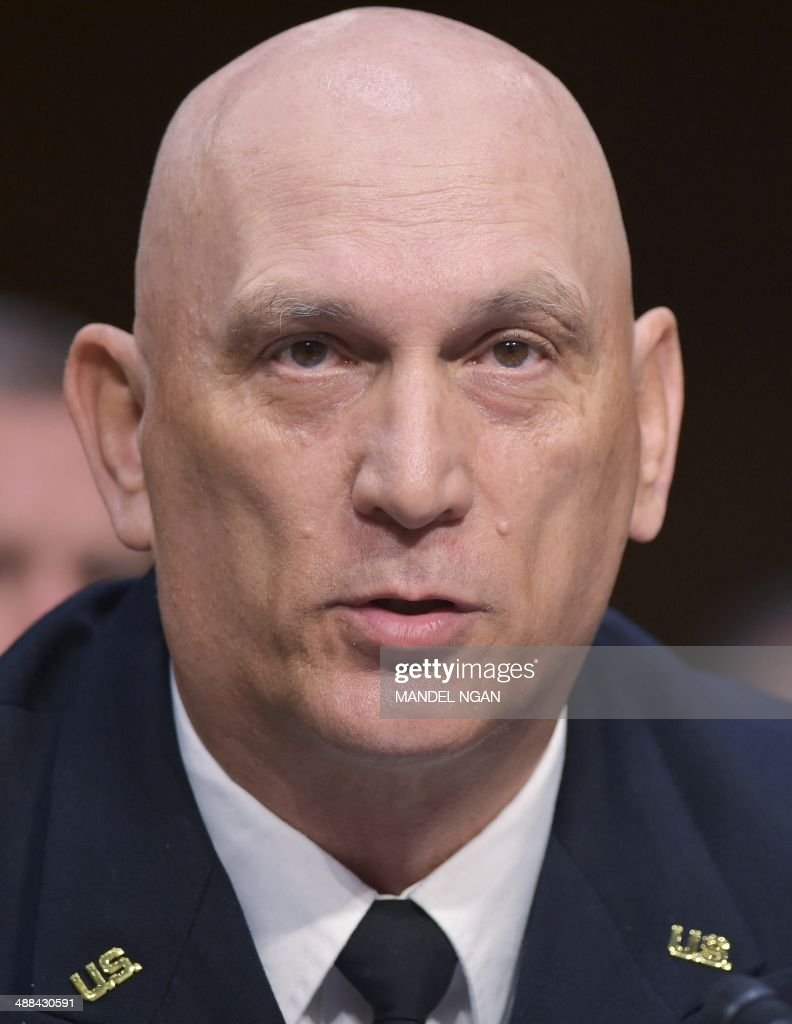 Chief of Staff of the Army Gen. Raymond Odierno testifies before the Senate Armed Services Committee on Defense Department proposals relating to military compensation in the Hart Senate Office Building on Capitol Hill on May 6, 2014 in Washington, DC. AFP PHOTO/Mandel NGAN