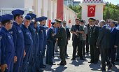 Chief of the General Staff of the Turkish Armed Forces Hulusi Akar and commandersinchief of Turkish armed forces visit the Turkish Police Special...