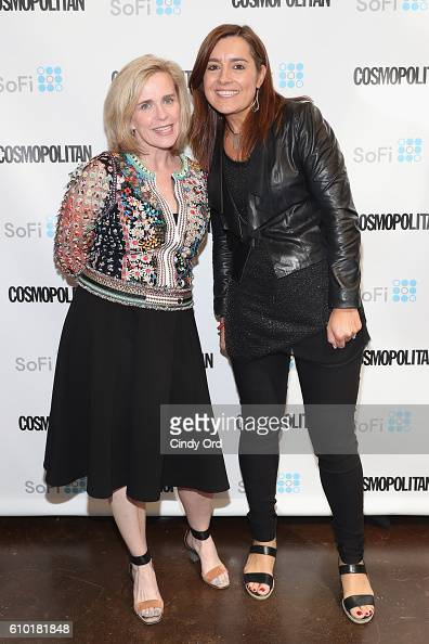 Chief Operating Officer for So Fi Joanne Bradford and Founder for Extreme You Sarah Robb O'Hagan attend Cosmopolitan Fun Fearless Money 2016 on...