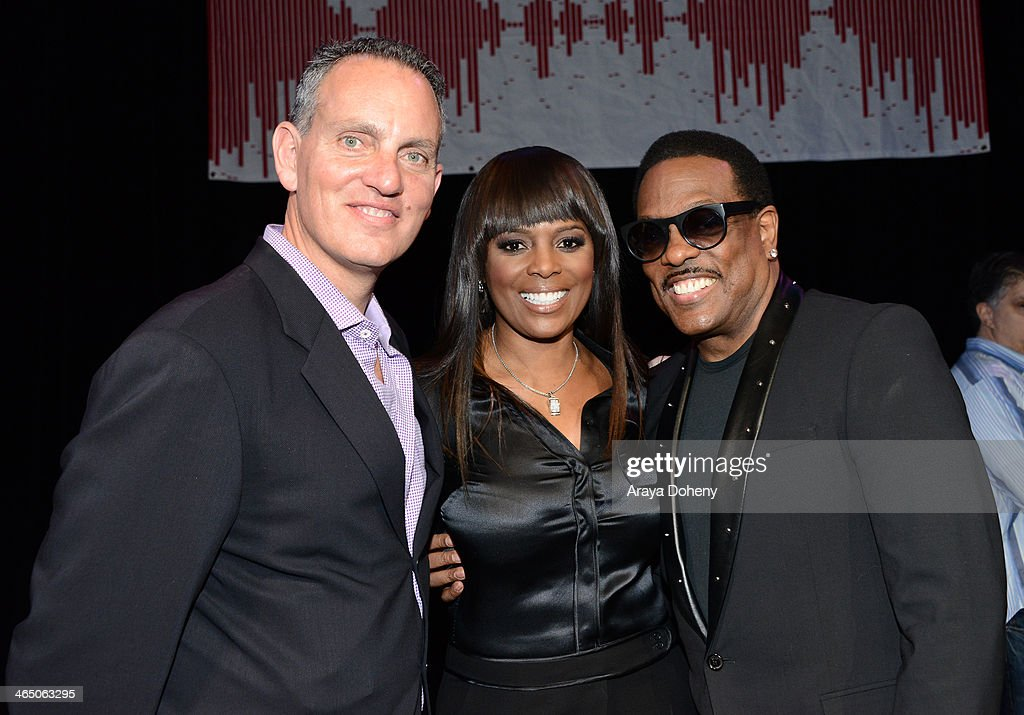 Chief Operating Officer Michael O'Neill BMI Vice President WriterPublisher Relations Atlanta Catherine Brewton and Charlie Wilson at BMI's 'How I...
