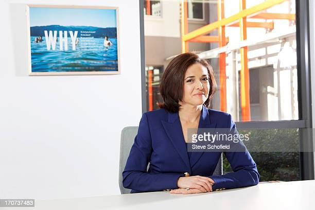 Chief operating officer of Facebook Sheryl Sandberg is photographed for the Times on January 31 2013 in Los Angeles California