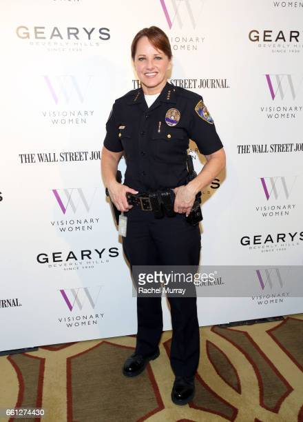 Chief Sandra Spagnoli attends the Visionary Women's Salon Mind Body and Soul at Montage Beverly Hills on March 30 2017 in Beverly Hills California